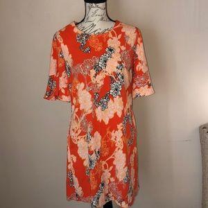 Orange Retro Dress